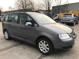 VW TOURAN 2006 1.9 TDI SE , DIESEL, ONE PREVIOUS OWNER, NEW SERVICE
