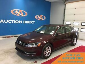 2013 Volkswagen Passat 2.5L Comfortline (A6), LEATHER, SUNROOF,