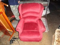 mobility chairs red X 2 HARDLY USED