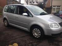 VW Touran S, 1.9 Diesel, 05 Plate, 8 Months MOT