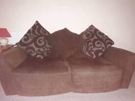 Free Fabric Brown sofa