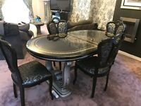 Italian rosella dining table