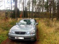 2002 Lexus GS430 Sport Low miles 59000 only excellent condition