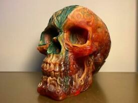 Large resin skull