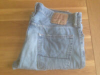 """Abercrombie & Fitch 'Baxter' Men's Bootcut Jeans (34""""W x 32""""L) JUST REDUCED"""