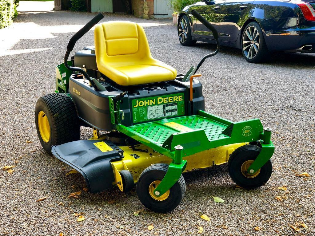 John Deere Z335E zero turn mower - ride on mower - Countax / Honda / Stiga    in Littleover, Derbyshire   Gumtree