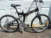 Urbanite Full Size Full Suspension Adult Folding Bike