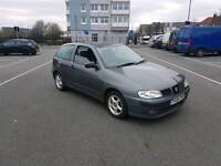 2002 SEAT IBIZA 1.4 PETROL EXCELLENT RUNNER DRIVER VERY CLEAN AND TIDY FOR YEAR