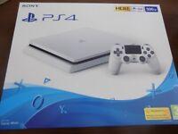 Brand new PlayStation 4 slim white 500GB