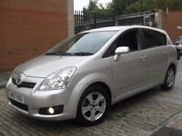 TOYOTA COROLLA VERSO NEW SHAPE 2007 #### 7 SEATER #### 5 DOOR MPV HATCHBACK