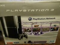 sony ps3 piano black mint condition