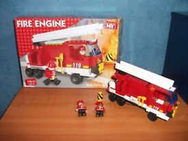 M.Y. FIRE ENGINE, BOXED