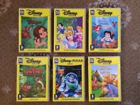 6 x Disney PC CD ROM Games For Ages 3 +.