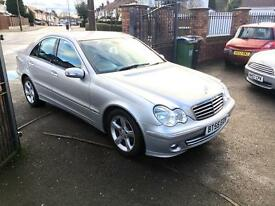 2005 MERCEDES C200 AVANTGARDE CDI SE AUTO DIESEL ** LOW MILEAGE + CURRENT OWNER LAST 8 YEARS **