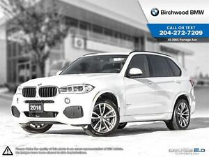 2016 BMW X5 xDrive35i M Sport! Premium Pack Enhanced!