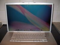 "APPLE MACBOOK PRO 2.1 17"" OS X 2.33GHz DUAL CORE. 4GB RAM. 100GB HDD. NEW BATTERY GOOD CONDITION"