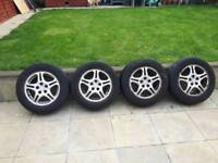 "Toyota Celica 1996 alloy wheels 15""with tyres"