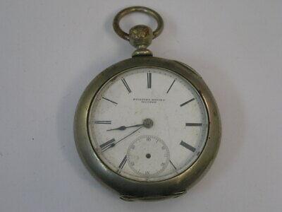 Vintage Rockford Pocket Watch Key Wind Key Set 18 Size 57mm 1877