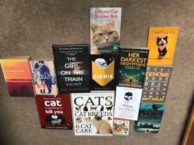 Random selection of books