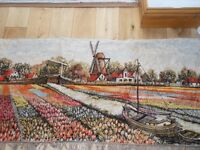 Vintage Dutch Wall Hanging