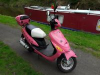 49cc pink scooter