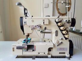 Yamata VF2409-132M Industrial Coverstitch Sewing Machine