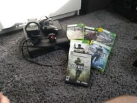 Xbox 360 with games fully working used
