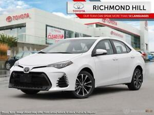 2019 Toyota Corolla SE Upgrade Package  - $80.64 /Wk