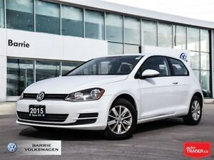 2015 Volkswagen Golf 2.0 TDI , manual and fuel efficient! fun to