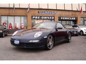 2008 Porsche 911 Carrera 4S/NAVIGATION/SUNROOF/LEATHER