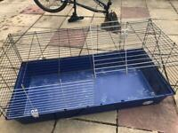 Blue guinea pig/ rabbit cage