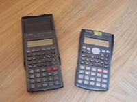 2 Casio Scientific Calculators