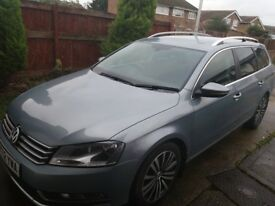 VW Passat Estate Auto. Years Mot, FSH VGC Drives superb