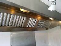 Commercial Extractor Canopy