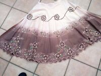 ladies lipsy circular skirt. Size 10/12