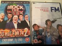 dvd tv series 2...Mock the week too hot for tv2 &nFM