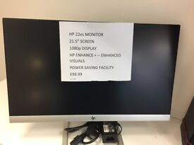 "HP 22ES MONITOR - 21.5"" SCREEN"