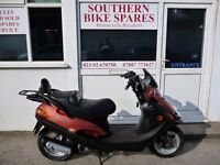2002 Kymco Spacer 125 Bronze/Black 5,418km (3,366 miles) 125cc 4T Automatic Twist&Go Scooter