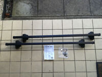 Thule roof bars and mounting kit for Vauxhall Zafira/Astra estate