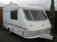 elddis knights bridge 1998 small light 2 berth caravan in vgc