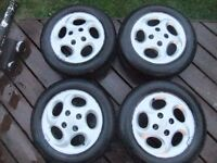 "Peugeot 206 (1998-2009) 14"" 4x Alloy Wheels + Tyres 175/65 R14"
