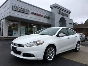 2014 Dodge Dart LIMITED,LEATHER,HTD SEATS,ALLOYS,8.4