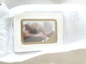 Wedding photo frame. New in box