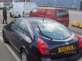 AUTO 2004 NISSAN PRIMERA VERY GOOD RUNNER FOR EXPORT £450