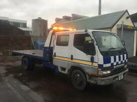 Mitsubishi Canter Recovery Truck Slide and Tilt