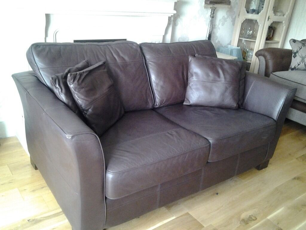 Brown Leather Sofa from Forrest Furnishings
