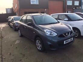 NISSAN MICRA VISIA GREY 1198cc CAT D 4,100 MILES ONLY EXCELLENT CONDITION INSIDE AND OUT