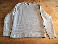 Men's size medium grey jumper hardly worn