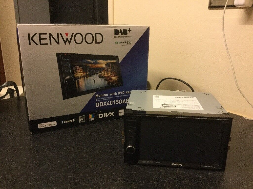 KENWOOD Car Radio DDX4015DAB