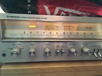 Pioneer SX - 650 Stereo Receiver (for spares or repair).